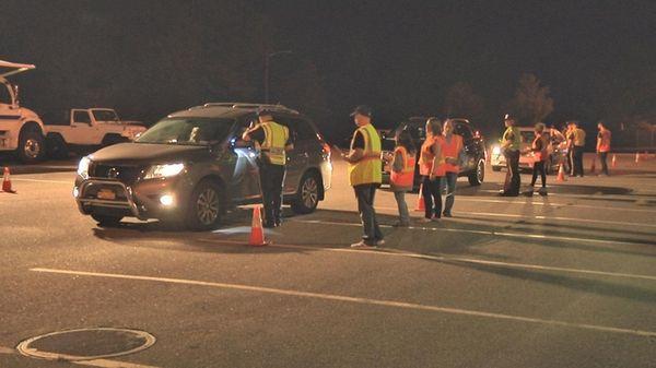 Police stop motorists late Friday, Sept. 2, 2016,
