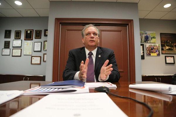 Nassau County Executive Edward Mangano discusses a new