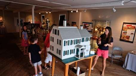 The Bellport-Brookhaven Historical Society displays various doll houses