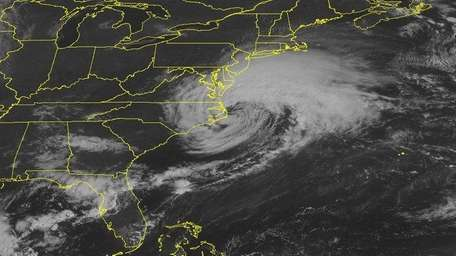 This NOAA satellite image taken Saturday, Sept. 3,