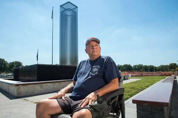 Retired firefighter and 9/11 responder Ray Pfeifer, who