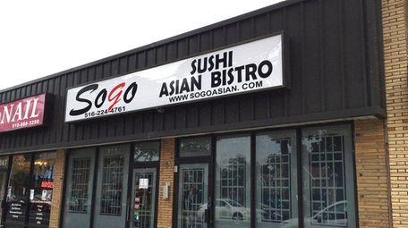Sogo Sushi Asian Bistro, a sushi-Asian fusion restaurant