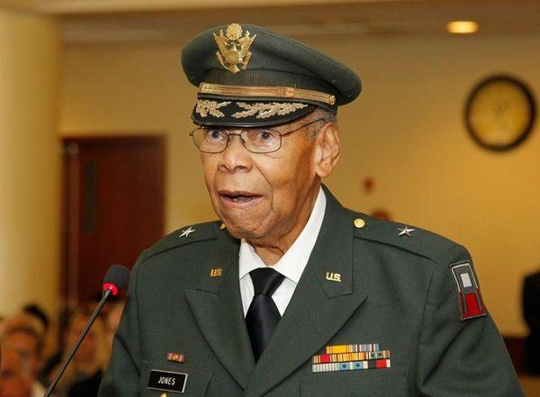 Brig. Gen. George A. Jones, of Roosevelt, at