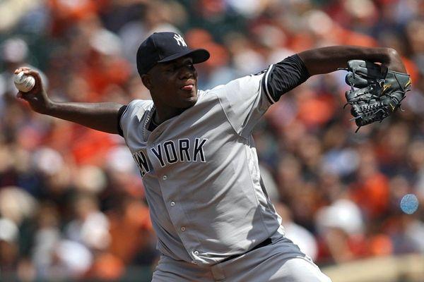 Michael Pineda of the New York Yankees works