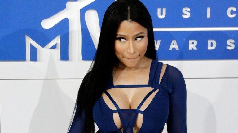 Nicki Minaj, above at the MTV Video Music