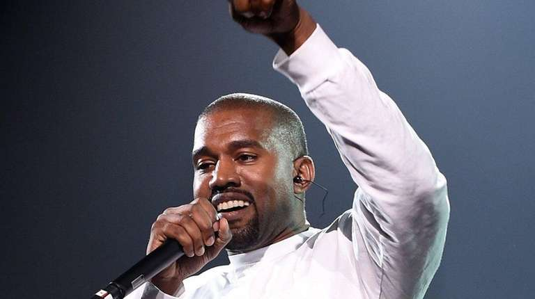 Kanye West, performing on Sunday, Sept. 4, 2016,