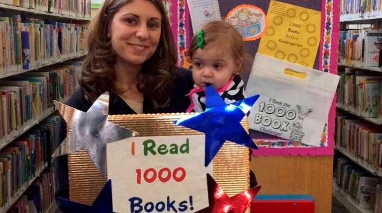 Beth Allo completed the 1,000 Books Before Kindergarten