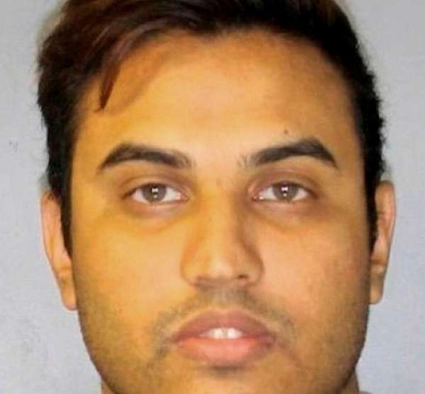 Krishna Parihar, 24, was charged with first-degree criminal