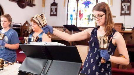 Jessica Gerow, 28, of West Babylon plays bass
