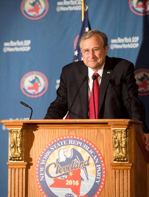 Ed Cox, chairman of the New York Republican