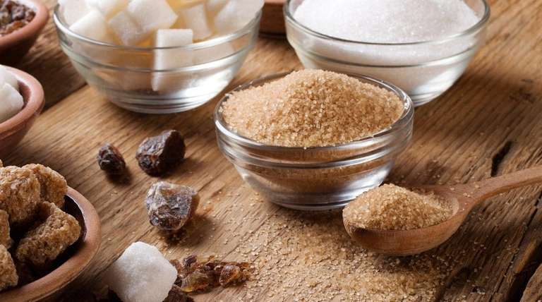 The various forms of sugar all contain about