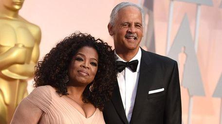 Oprah Winfrey, left, and Stedman Graham had planned