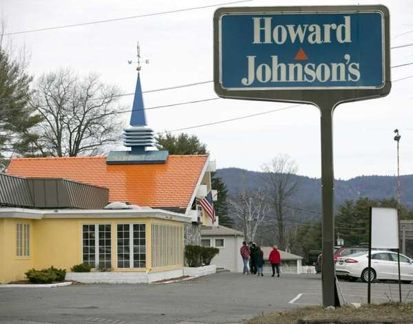The Howard Johnson's Restaurant in Lake George is