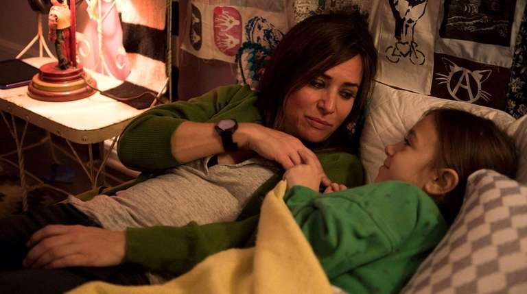 Pamela Adlon and Olivia Edward (daughter of psychic