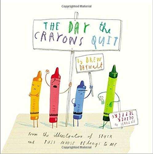 Imagine if your box of crayons end up
