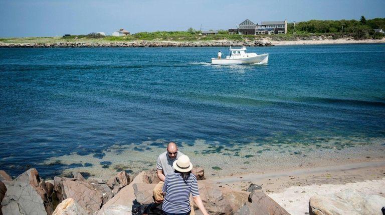 Montauk Harbor is a family-friendly Long Island destination.
