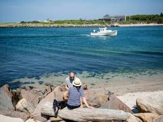 Montauk Harbor is a family-friendly Long Island destination.