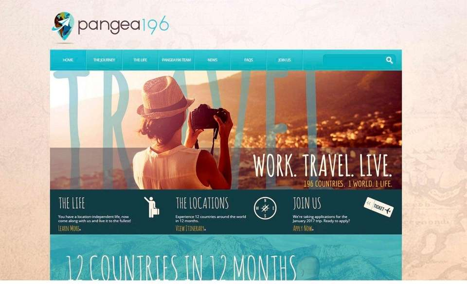 NAME pangea196.com WHAT IT DOES If you always