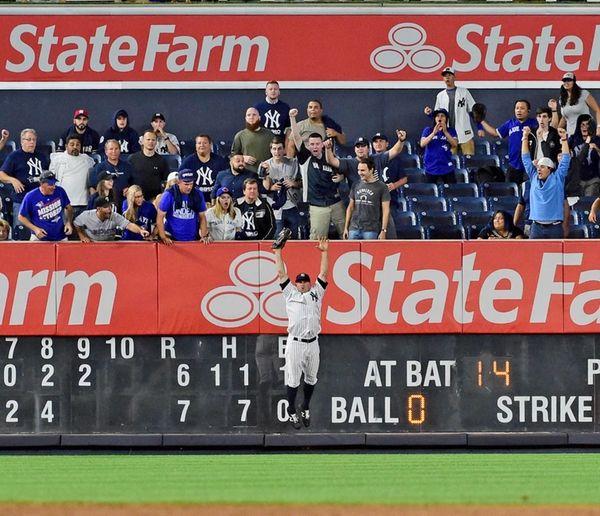Ellsbury's 3 RBIs back Tanaka as Yanks beat Blue Jays 5-3