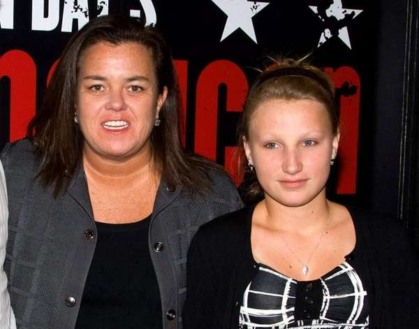 Rosie O'Donnell, with her daughter Chelsea, at the