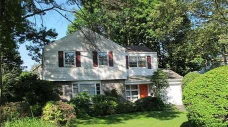 This Colonial with four bedrooms and 2.5 bathrooms