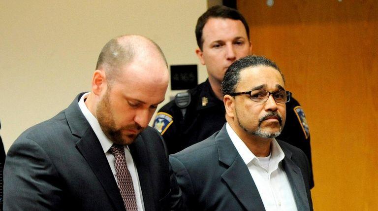 Edwin Gutierrez, 49, inside Judge William Condon's courtroom