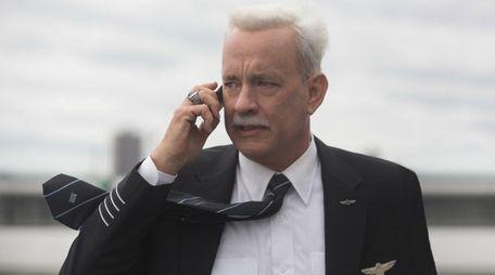 Tom Hanks portrays Capt. Chesley