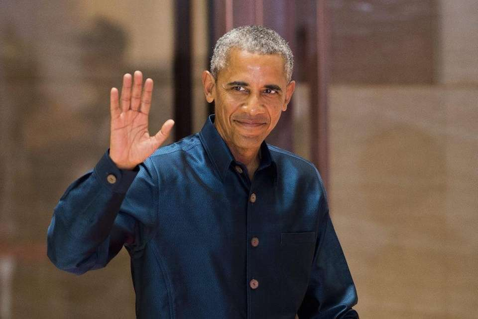 President Barack Obama proudly revealed to the world