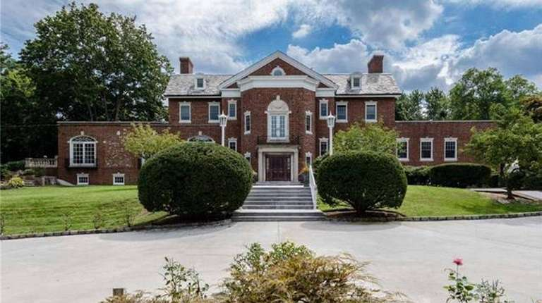 The five-bedroom Georgian mansion Bayberry Hill in Syosset