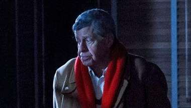 Jerry Lewis does his share of brooding in