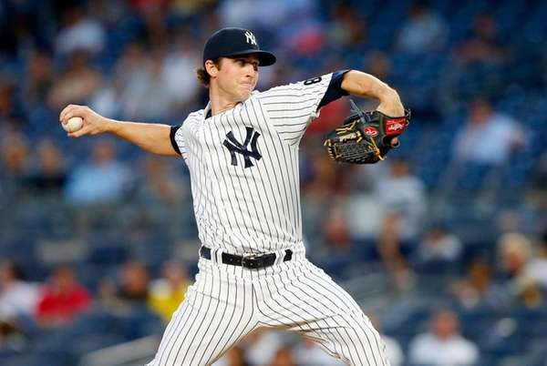 Bryan Mitchell of the New York Yankees went