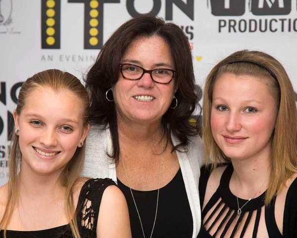 Rosie O'Donnell with her daughters Vivienne Rose O'Donnell,