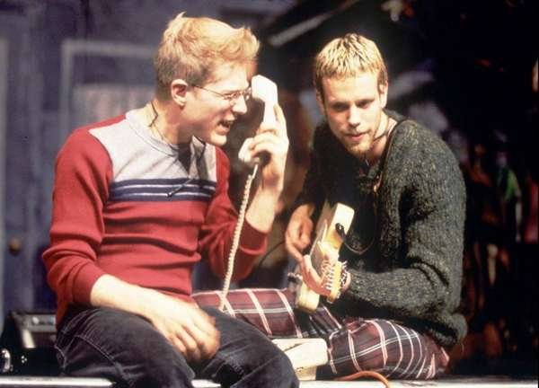 Anthony Rapp, left, and Adam Pascal starred in