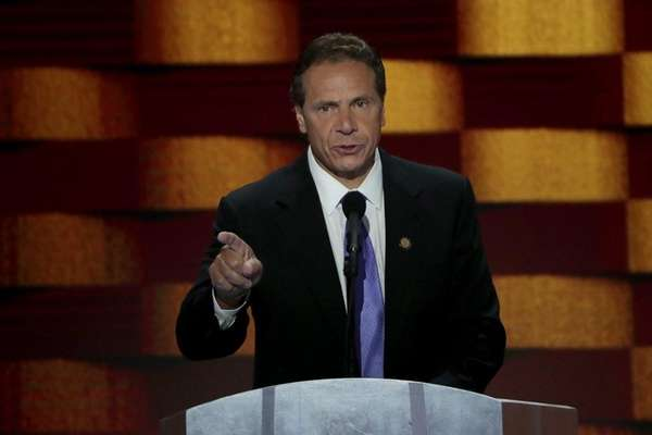Gov. Andrew Cuomo at the Democratic National Convention
