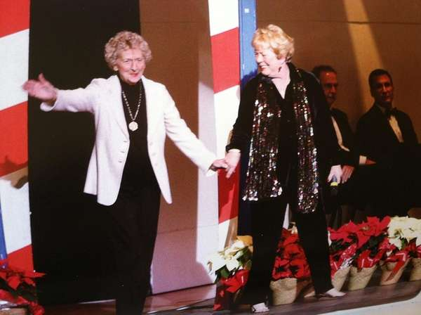 June Loesch, left, and Lynda Gaché, co-owners of