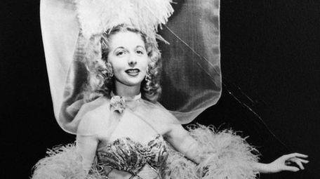 June Loesch in 1942 as a Gae Foster