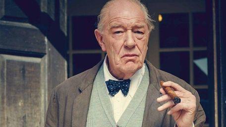 Michael Gambon as Winston Churchill in