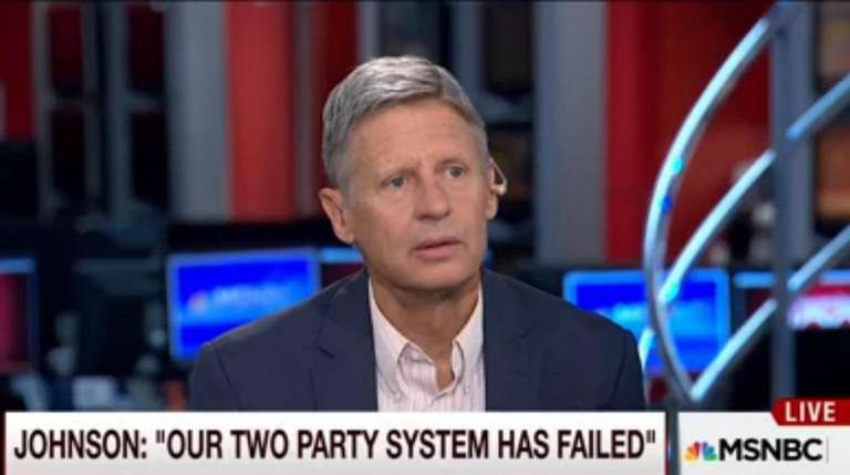 Gary Johnson's confusion over Aleppo on MSNBC's