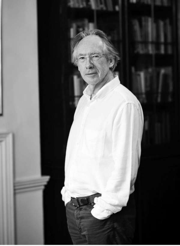 Ian McEwan, author of