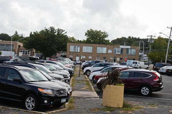 A Long Island parking lot.