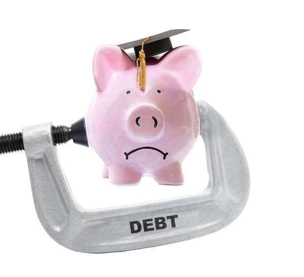 Soaring college costs have seen student loan debt