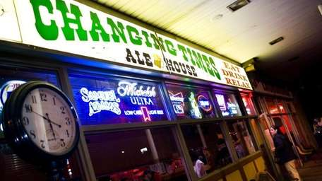 Changing Times Ale House is located at 526B