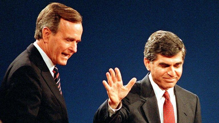 Vice President George H.W. Bush, the Republican presidential