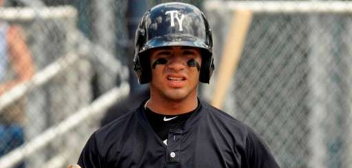 Tampa Yankees shortstop Gleyber Torres during a Florida