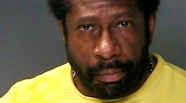 Raynard Dashiell, 54, of Dix Hills, was arrested