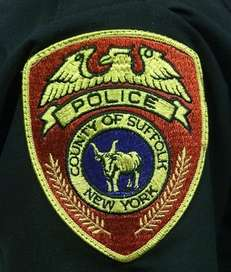 The patch of the Suffolk County Police Department.