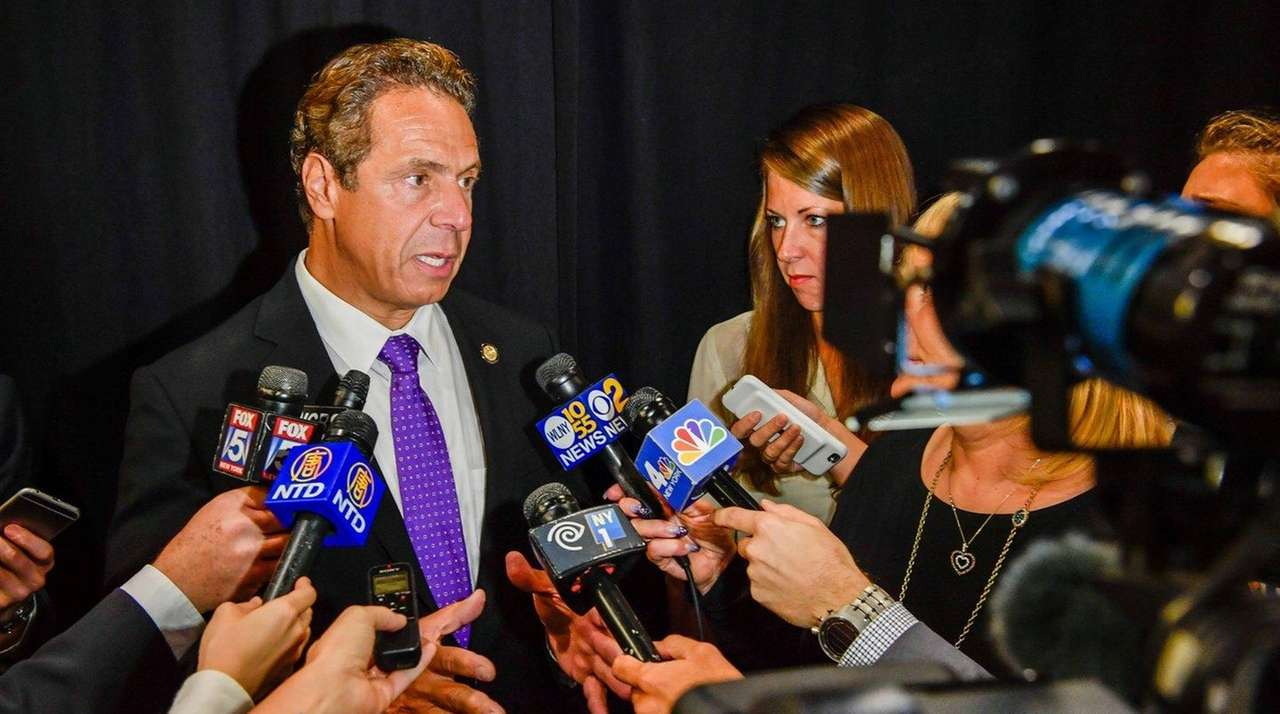 Gov. Andrew M. Cuomo signed a bill on