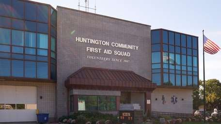 Huntington Community First Aid Squad's headquarters is seen