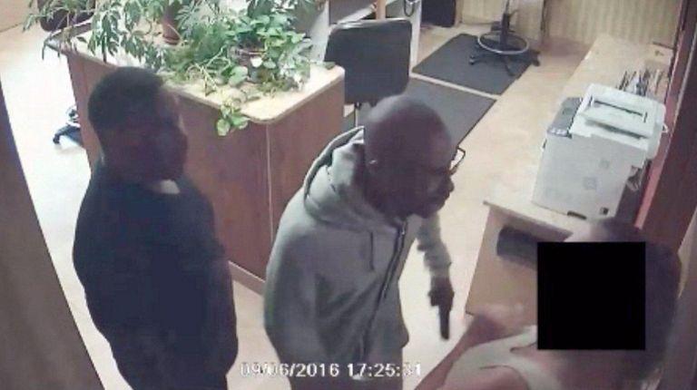 Nassau police said video surveillance footage released Sunday,