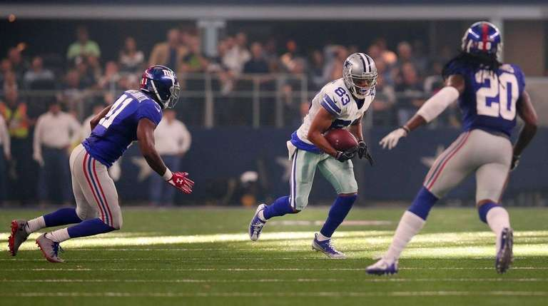 Terrance Williams of the Dallas Cowboys carries the